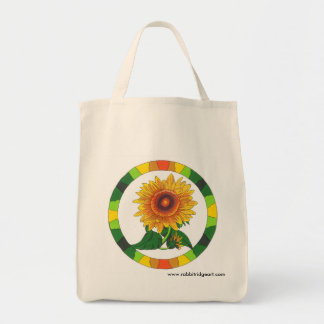 Sunflower Tote Canvas Bag