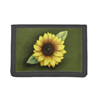 Sunflower Trifold Wallet