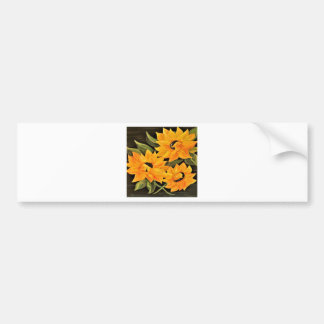 Sunflower Trio Bumper Sticker