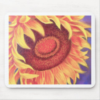 Sunflower Tropical Flower Painting - Multi Mouse Mats