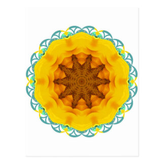 Sunflower View Postcard