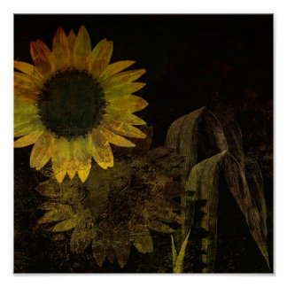 Sunflower Vision Poster