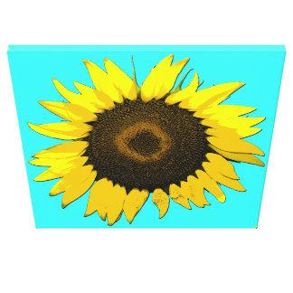 Sunflower Wall Art Canvas Print