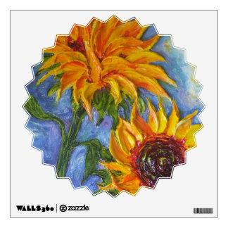 Sunflower Wall Decal