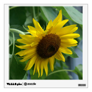 Sunflower, Wall Decal. Wall Decal