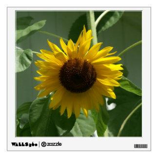 Sunflower, Wall Decal. Wall Sticker