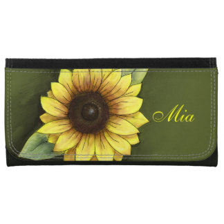 Sunflower Wallet