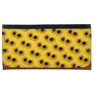 Sunflower Wallet Sunflower Summer Flower Wallets