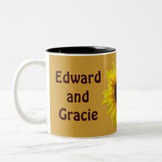 Sunflower Wedding  - Coffee Mug 2