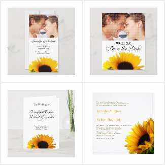 Sunflower Wedding Collection