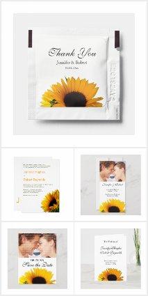 Sunflower Wedding Collection