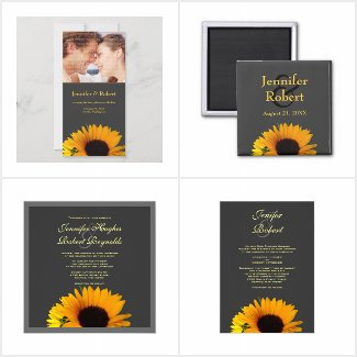 Sunflower Wedding Collection (Gray)