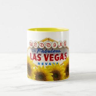 Sunflower WEDDING In Fabulous Las Vegas Mug
