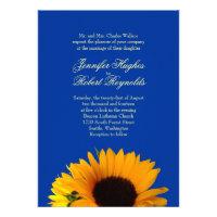 Sunflower Wedding Invitation (<em>$2.05</em>)