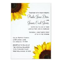 Sunflower  Wedding Invitation (<em>$2.01</em>)