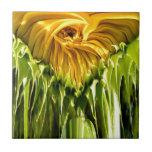 """Sunflower Whirl Tile<br><div class=""""desc"""">Photo</div>"""