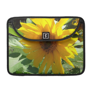 Sunflower with Bees MacBook Pro Sleeve