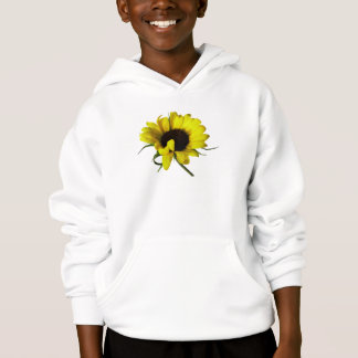 Sunflower With Naturally Curly Hair Hoodie