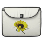 Sunflower With Naturally Curly Hair Sleeve For MacBooks