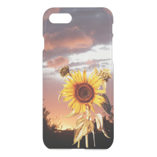 SUNFLOWER WITH SUMMER SUNSET iPhone 7 CASE