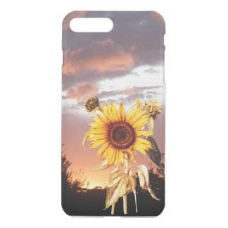 SUNFLOWER WITH SUMMER SUNSET iPhone 7 PLUS CASE