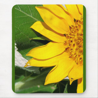 Sunflower...with Visitors Mouse Pad