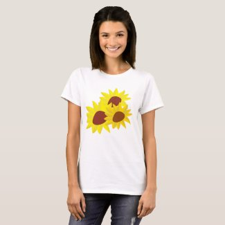 Sunflower Women's Basic T-Shirt