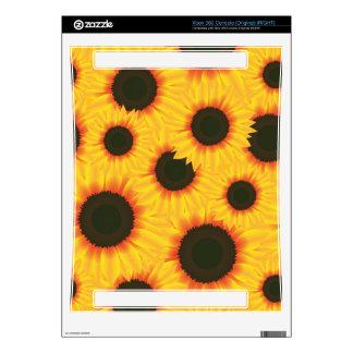 Sunflower Xbox 360 Console Decals