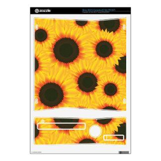 Sunflower Xbox 360 S Console Skin