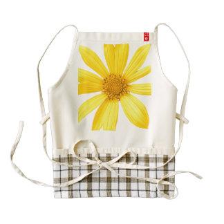 sunflower zazzle HEART apron