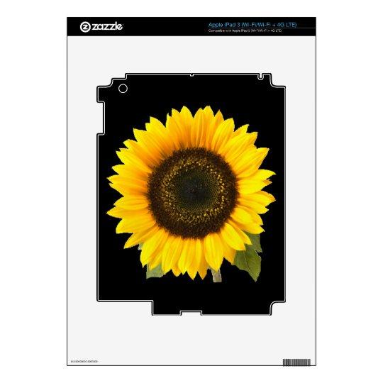 Sunflower Zazzle Skin Decal For iPad 3
