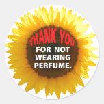 SunflowerNoPerfume Sticker