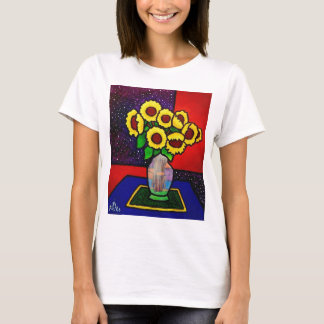 Sunflowers 10-4 by Piliero T-Shirt