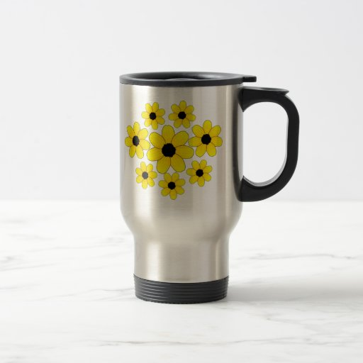 Sunflowers 15 Oz Stainless Steel Travel Mug