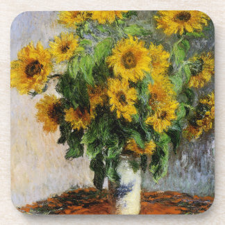 Sunflowers, 1881 by Monet. Coaster