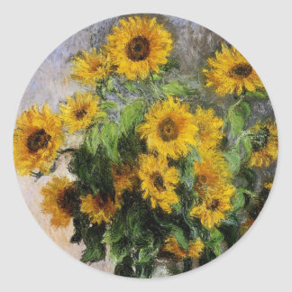 Sunflowers, 1881 by Monet. Stickers