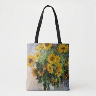Sunflowers, 1881 by Monet. Tote Bag
