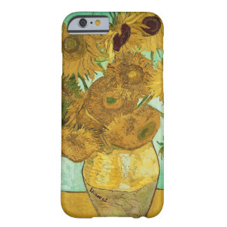Sunflowers, 1888 2 barely there iPhone 6 case