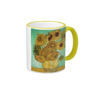 Sunflowers, 1888 2 ringer coffee mug