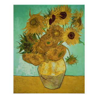 Sunflowers, 1888 2 poster