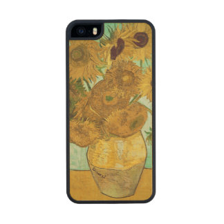 Sunflowers, 1888 2 carved® maple iPhone 5 slim case