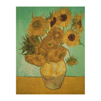 Sunflowers, 1888 2 wood wall art