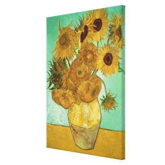 Sunflowers, 1888 stretched canvas print
