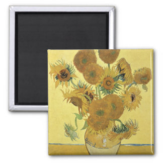 Sunflowers, 1888 magnets