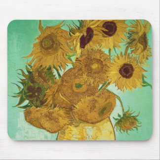 Sunflowers, 1888 mouse pad
