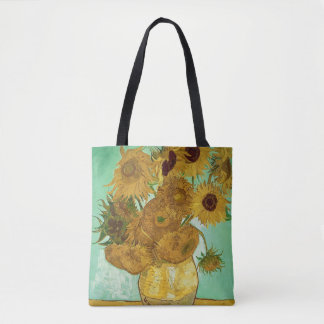 Sunflowers, 1888 tote bag