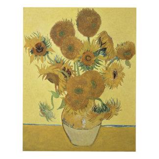 Sunflowers, 1888 wood wall art