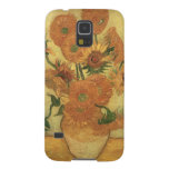 Sunflowers, 1889 (oil on canvas) case for galaxy s5