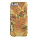 Sunflowers, 1889 (oil on canvas) barely there iPhone 6 case
