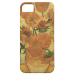 Sunflowers, 1889 (oil on canvas) iPhone 5 cover